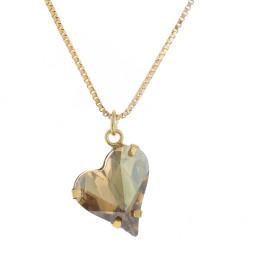 Big heart necklace topaz 17mm-25mm Krystal London Gold Plated Swarovski.jpg