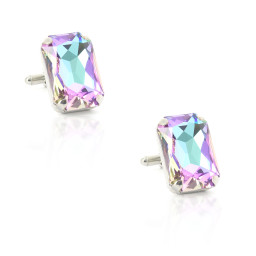Purple Raing Krystal London Mens Cuff links Side on.jpg