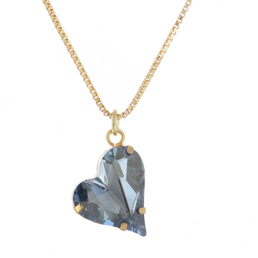Big heart necklace blue 17mm-25mm Krystal London Gold Plated Swarovski bbbb.jpg