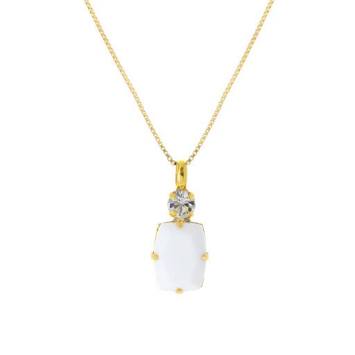 valentina square rectangle necklace white chalk  krystal london swarovski necklace only.jpg