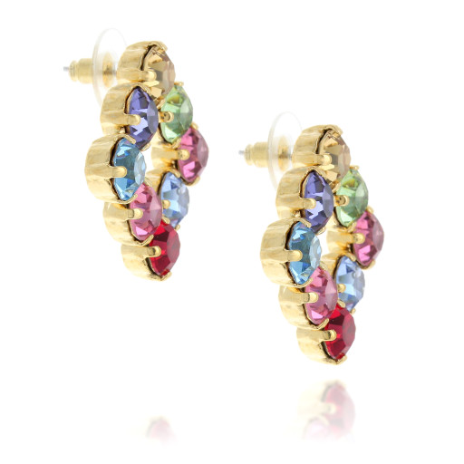 diamond sqaure earrings multi coloured far side on.jpg