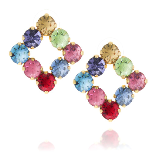diamond sqaure earrings multi coloured front on.jpg