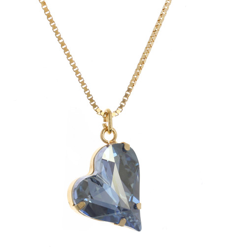 Big heart necklace blue 17mm-25mm Krystal London Gold Plated Swarovski bbbbcc.jpg