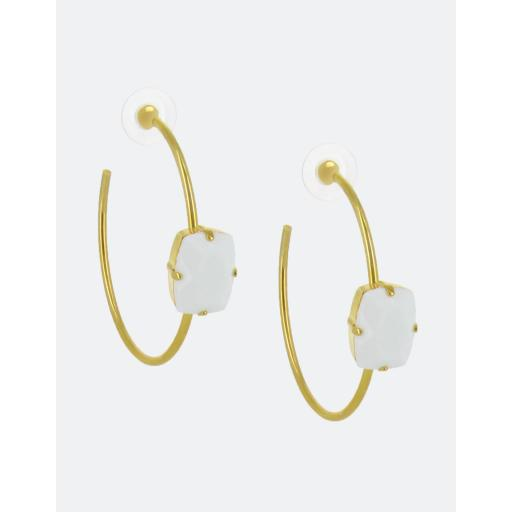 Dinah Hoop Earrings
