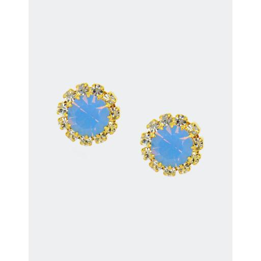 June Rosetta Stud Earrings