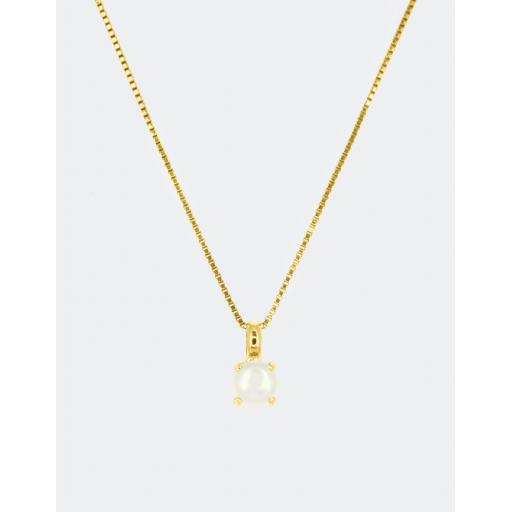 Aubree Pearl Necklace