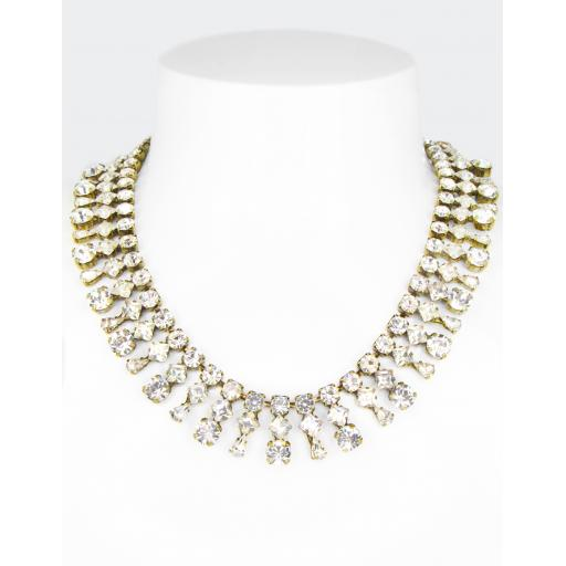 Vintage Richa Necklace - Crystal