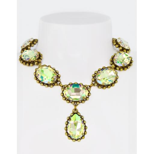 Vintage Caroline Necklace - Luminous Green