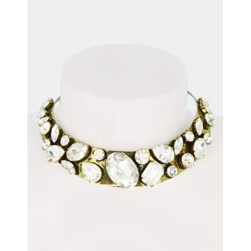Vintage Lucinda Collar - Crystal