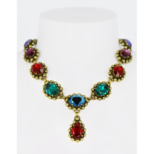 Vintage Margaret Necklace - Multi Mix
