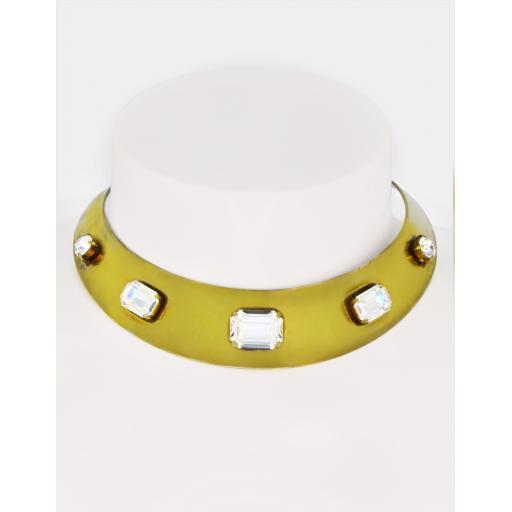 Vintage Eva Collar - Crystal
