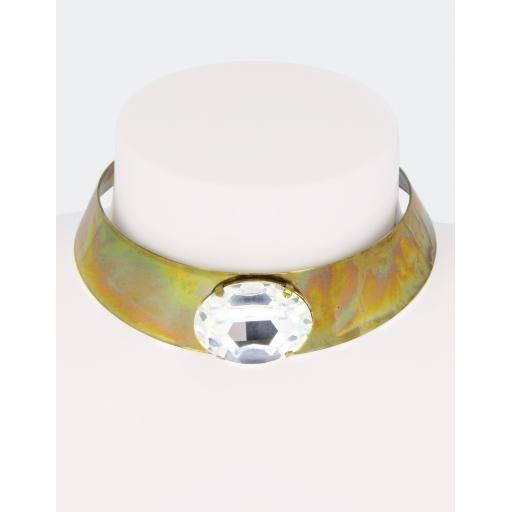 Vintage Julia Collar - Crystal