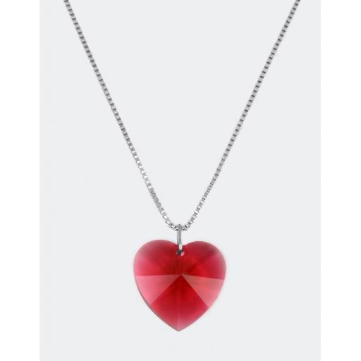Silvia Heart Necklace
