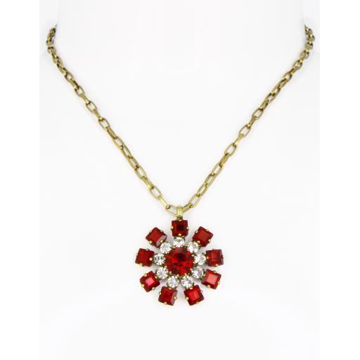 Vintage Chakra Necklace - Siam