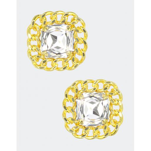 Vintage Reef Earring - Crystal