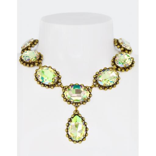 Vintage Caroline Necklace - Luminous Green